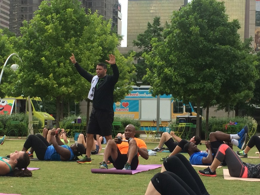 Sweat in the Park Bootcamp w/Higher Living Single (HLS)